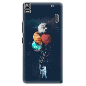 Plastové pouzdro iSaprio Balloons 02 na mobil Lenovo A7000