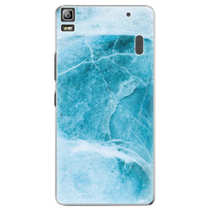 Plastové pouzdro iSaprio Blue Marble na mobil Lenovo A7000