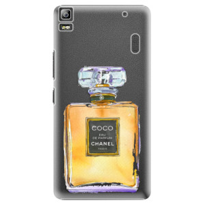 Plastové pouzdro iSaprio Chanel Gold na mobil Lenovo A7000