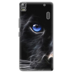 Plastové pouzdro iSaprio Black Puma na mobil Lenovo A7000
