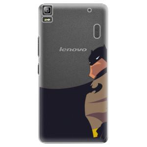 Plastové pouzdro iSaprio BaT Comics na mobil Lenovo A7000