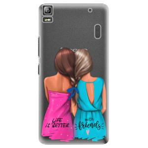 Plastové pouzdro iSaprio Best Friends na mobil Lenovo A7000