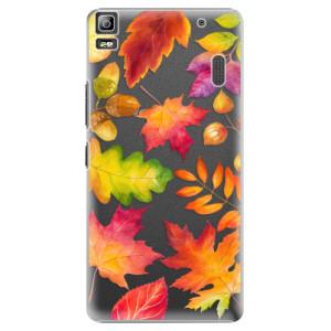 Plastové pouzdro iSaprio Autumn Leaves 01 na mobil Lenovo A7000
