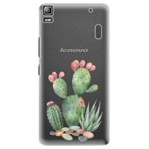 Plastové pouzdro iSaprio Cacti 01 na mobil Lenovo A7000
