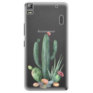 Plastové pouzdro iSaprio Cacti 02 na mobil Lenovo A7000