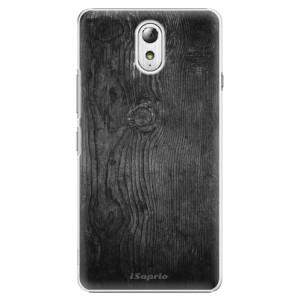 Plastové pouzdro iSaprio Black Wood 13 na mobil Lenovo P1m