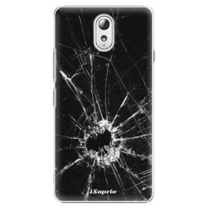 Plastové pouzdro iSaprio Broken Glass 10 na mobil Lenovo P1m
