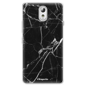 Plastové pouzdro iSaprio Black Marble 18 na mobil Lenovo P1m
