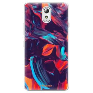 Plastové pouzdro iSaprio Color Marble 19 na mobil Lenovo P1m