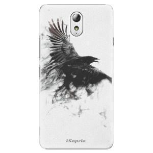 Plastové pouzdro iSaprio Dark Bird 01 na mobil Lenovo P1m