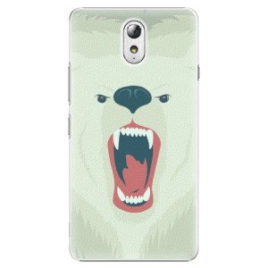 Plastové pouzdro iSaprio Angry Bear na mobil Lenovo P1m