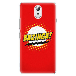 Plastové pouzdro iSaprio Bazinga 01 na mobil Lenovo P1m