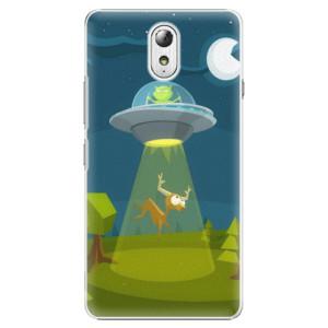 Plastové pouzdro iSaprio Alien 01 na mobil Lenovo P1m