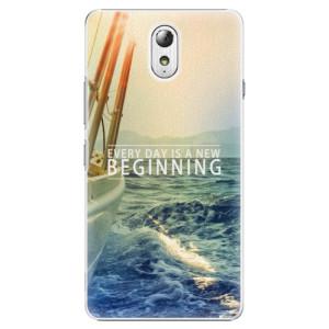 Plastové pouzdro iSaprio Beginning na mobil Lenovo P1m