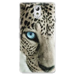 Plastové pouzdro iSaprio white Panther na mobil Lenovo P1m