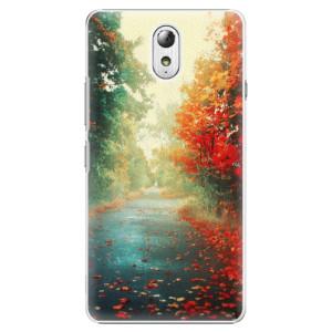 Plastové pouzdro iSaprio Autumn 03 na mobil Lenovo P1m