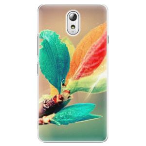 Plastové pouzdro iSaprio Autumn 02 na mobil Lenovo P1m