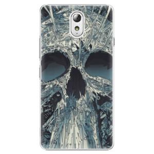Plastové pouzdro iSaprio Abstract Skull na mobil Lenovo P1m