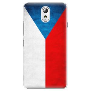Plastové pouzdro iSaprio Czech Flag na mobil Lenovo P1m