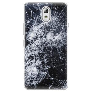 Plastové pouzdro iSaprio Cracked na mobil Lenovo P1m