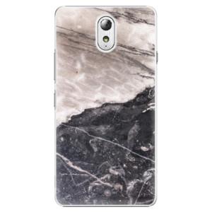 Plastové pouzdro iSaprio BW Marble na mobil Lenovo P1m