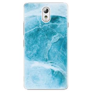 Plastové pouzdro iSaprio Blue Marble na mobil Lenovo P1m