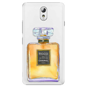 Plastové pouzdro iSaprio Chanel Gold na mobil Lenovo P1m