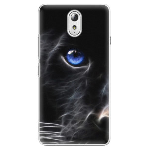 Plastové pouzdro iSaprio Black Puma na mobil Lenovo P1m