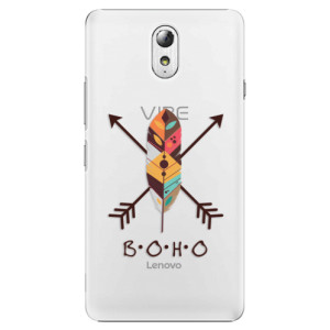 Plastové pouzdro iSaprio BOHO na mobil Lenovo P1m