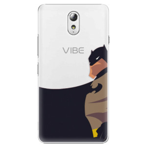 Plastové pouzdro iSaprio BaT Comics na mobil Lenovo P1m