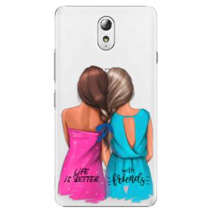Plastové pouzdro iSaprio Best Friends na mobil Lenovo P1m
