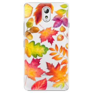 Plastové pouzdro iSaprio Autumn Leaves 01 na mobil Lenovo P1m