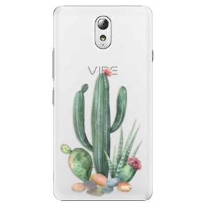 Plastové pouzdro iSaprio Cacti 02 na mobil Lenovo P1m