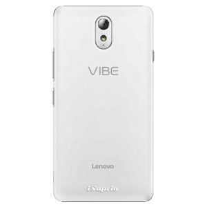 Plastové pouzdro iSaprio 4Pure mléčné bez potisku na mobil Lenovo P1m