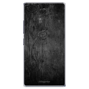 Plastové pouzdro iSaprio Black Wood 13 na mobil Lenovo P70