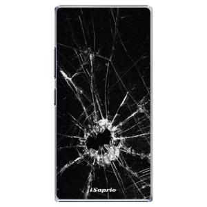Plastové pouzdro iSaprio Broken Glass 10 na mobil Lenovo P70