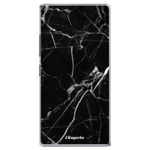 Plastové pouzdro iSaprio Black Marble 18 na mobil Lenovo P70