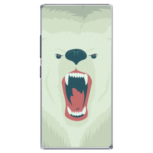 Plastové pouzdro iSaprio Angry Bear na mobil Lenovo P70