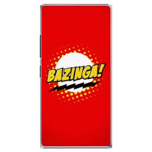 Plastové pouzdro iSaprio Bazinga 01 na mobil Lenovo P70