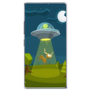 Plastové pouzdro iSaprio Alien 01 na mobil Lenovo P70
