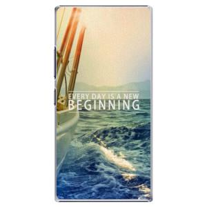 Plastové pouzdro iSaprio Beginning na mobil Lenovo P70