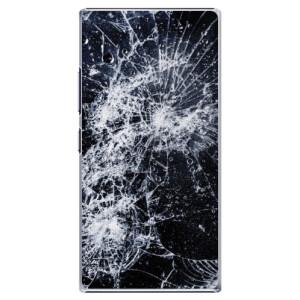 Plastové pouzdro iSaprio Cracked na mobil Lenovo P70