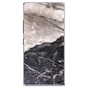 Plastové pouzdro iSaprio BW Marble na mobil Lenovo P70