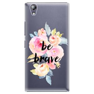 Plastové pouzdro iSaprio Be Brave na mobil Lenovo P70