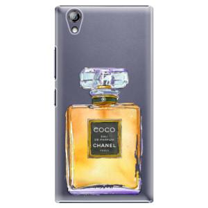 Plastové pouzdro iSaprio Chanel Gold na mobil Lenovo P70