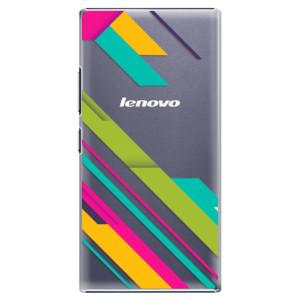Plastové pouzdro iSaprio Color Stripes 03 na mobil Lenovo P70