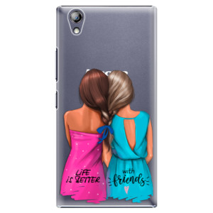 Plastové pouzdro iSaprio Best Friends na mobil Lenovo P70