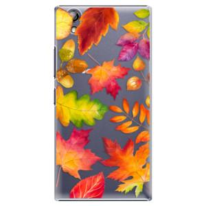 Plastové pouzdro iSaprio Autumn Leaves 01 na mobil Lenovo P70