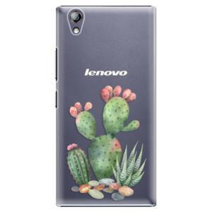 Plastové pouzdro iSaprio Cacti 01 na mobil Lenovo P70