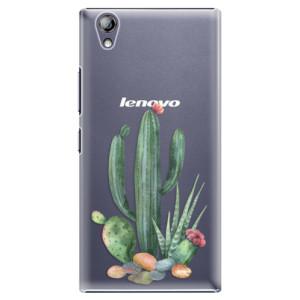 Plastové pouzdro iSaprio Cacti 02 na mobil Lenovo P70